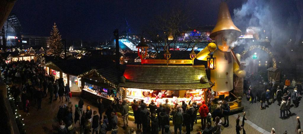 Panorama Weihnachtsmarkt