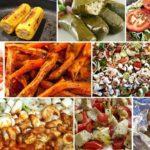 vegetarisches Speisenangebot