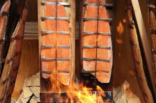 Flammlachs Holzbretter bei JOBA