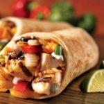 Mexikanische Burritos auf dem JOBA Weihnachtsmarkt