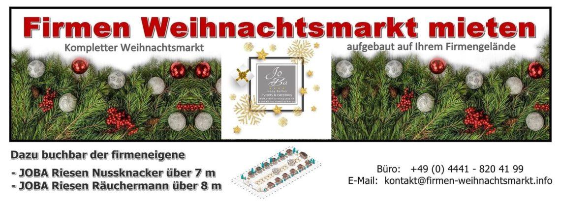 Mobiler Weihnachtsmarkt mieten
