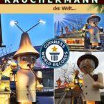 Guinness World Records weltgrößter Räuchermann