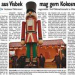 Riesen Nussknacker Zeitungsbericht