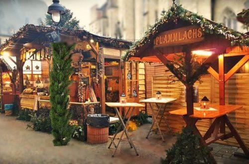 Mobiler Firmen Weihnachtsmarkt mieten